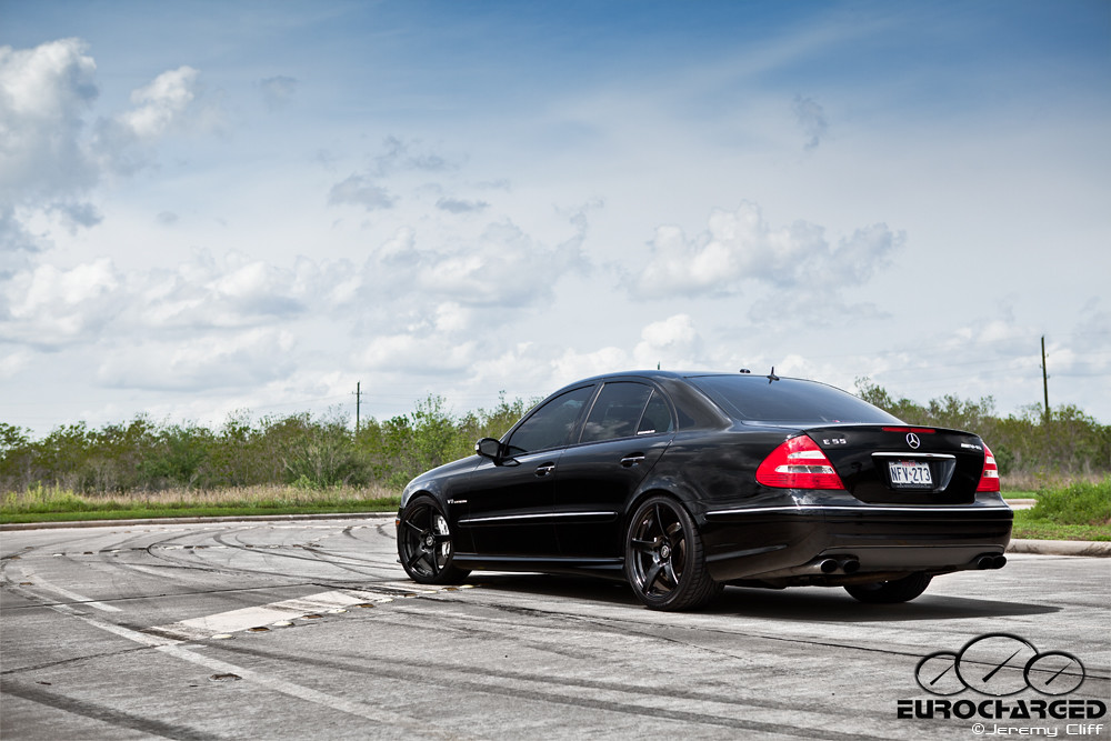 ... Mercedes Benz E55 AMG: Tuned By Eurocharged | By Jeremycliff