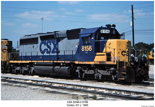CSX SD40-2 8156 | by Robert W. Thomson