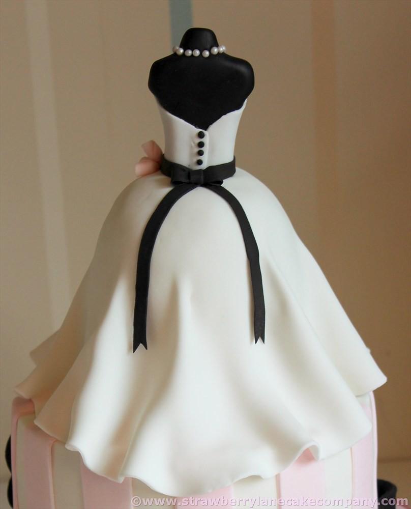 Wedding Dress Bridal Shower Cake for Kate | I made this for … | Flickr