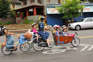 The Finch Family | by BikePortland.org