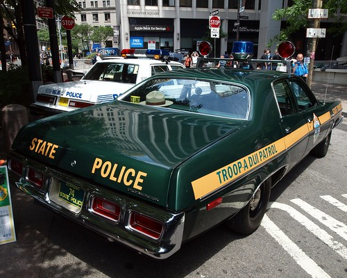 1974 plymouth vermont state police car 12th annual for Vermont motor vehicle laws