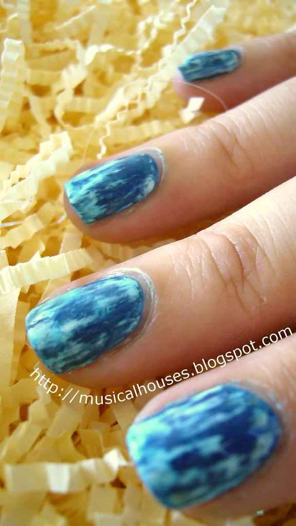 Acid Wash Jean Nail Art 3 Musical Houses Flickr