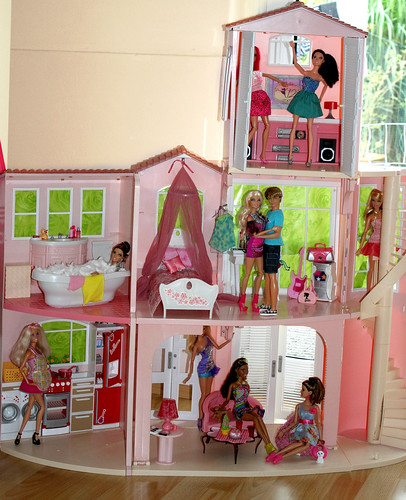 Barbie 3 Story Dream House I Make A Picture From My