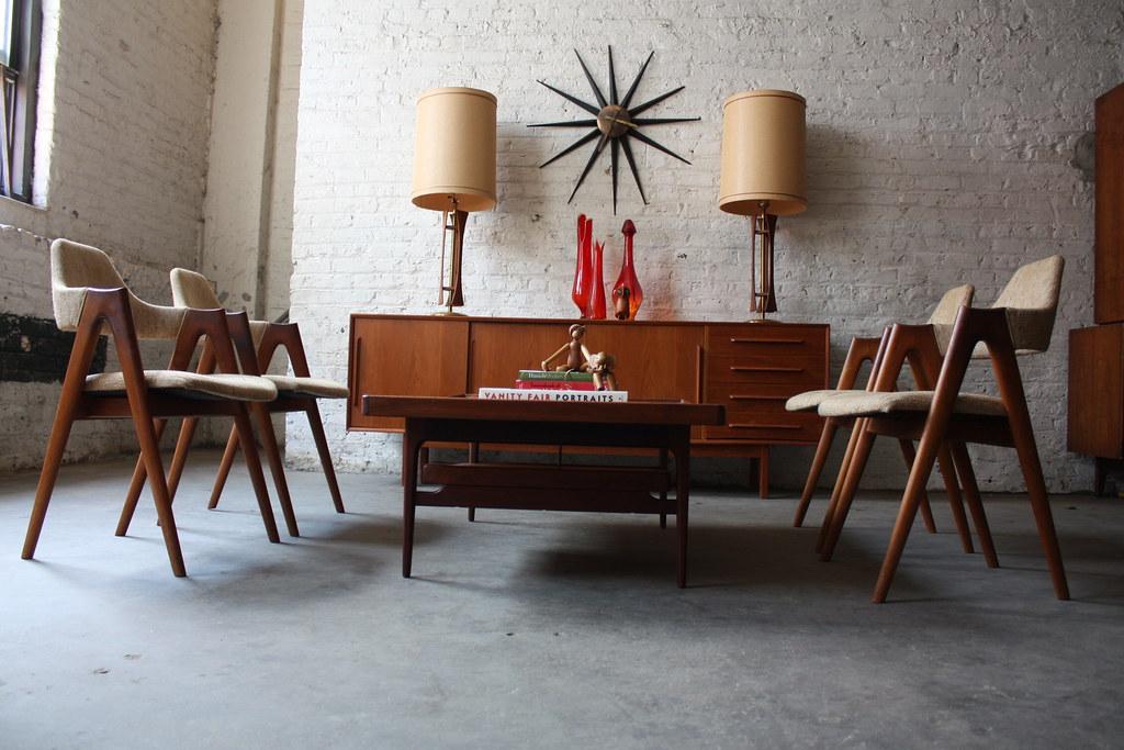 Danish Teak Credenza : Astounding danish mid century modern dyrlund teak credenzau flickr