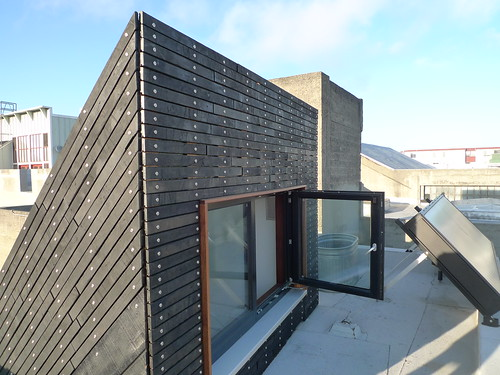 Burnt wood rainscreen cladding | by mark.hogan