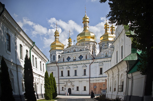 Pechersk Lavra Monastery and Cathedral of the Dormition in Kiev, Ukraine | by Hulivili