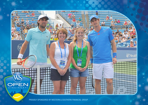 2012 Western & Southern Open Coin Toss -- Andy Murray v Jeremy Chardy, 8/16/2012 | by Western & Southern Open