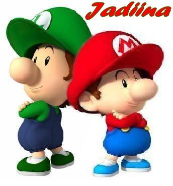 baby mario and baby luigi by jadiina - Bebe Mario