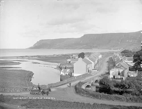 Waterfoot, Co. Antrim, late 19th century | by National Library of Ireland on The Commons