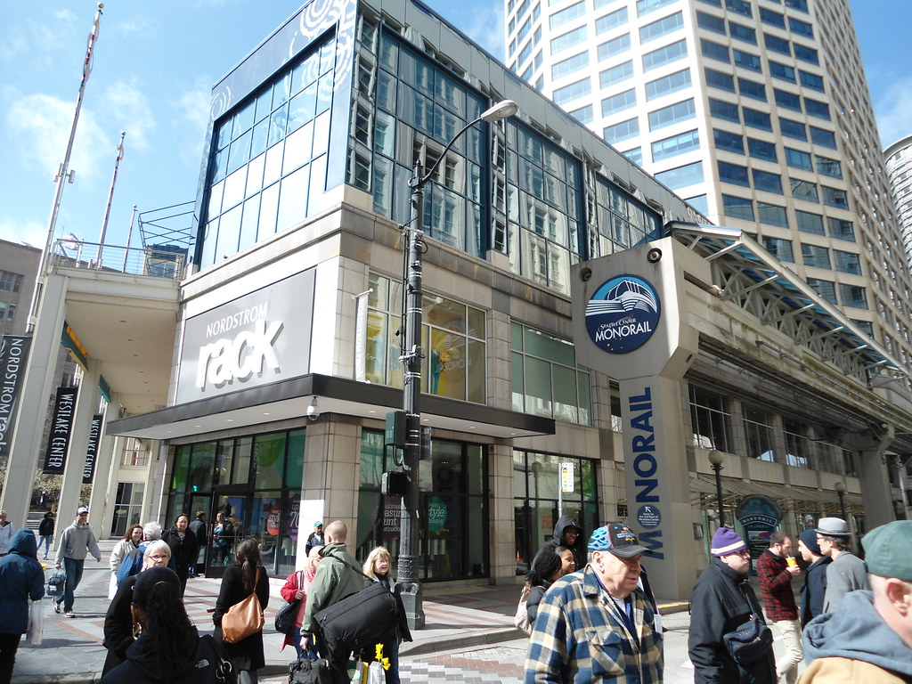The New Nordstrom Rack By Seattle Monorail At Westlake Center Patricksmercy
