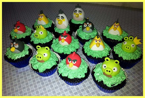 Angry Bird Cupcakes | by ♥ Sweet Creamz ♥