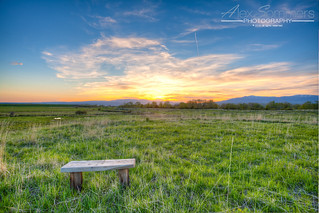 Empty Bench | by www.alexsommersphotography.com