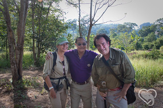 Patricia Sims and Michael Zo Clark with Dr. Sumet Tantivejkul | by worldelephantday