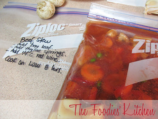 Freezer Meals: Beef & Vegetable Goulash | by twofoodies