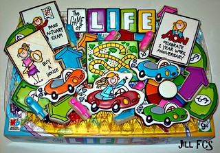 "Sam is winning at the game of ""Life""! 
