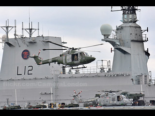 HMS Ocean Greenwich Helicopter | by Camera London