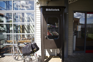 Bromölla - Swedens Smallest Library | by Mikael Colville-Andersen