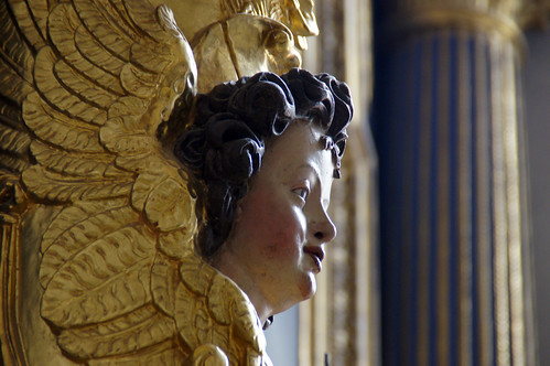 The angel's profile | by Renate Dodell