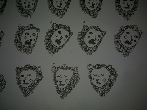 Lion heads | by Bambi WIllow