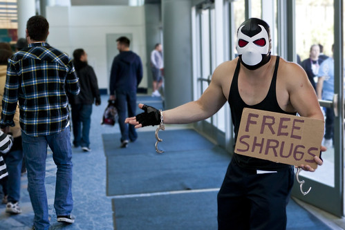 Free Shrugs | by z0m3ie