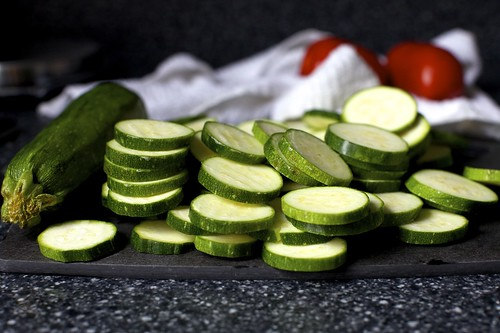 sliced zucchini | by smitten kitchen