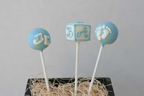Baby Boy Cake Pops | by Sweet Lauren Cakes
