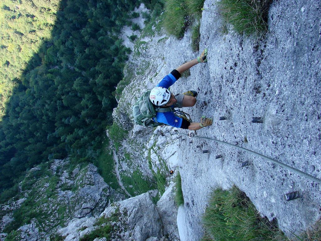 Klettersteig Attersee : Klettersteige attersee klettersteig km bergwelten