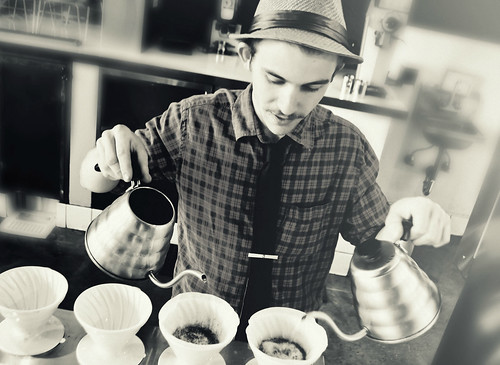 Barista Duncan Woodbury at Coffee Commissary, Los Angeles | by r.e. ~