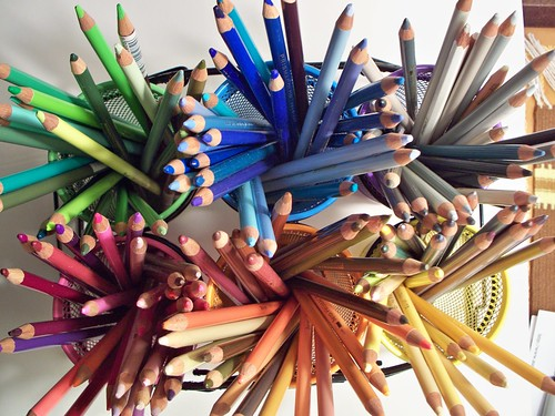 Lucious Rainbow of Prismacolors Pencils | by azfotojoy