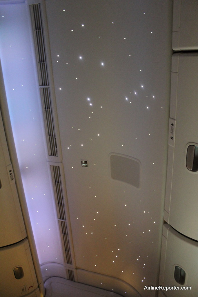 Starlight ceiling lighting airline reporter flickr starlight ceiling lighting by airlinereporter mozeypictures Image collections