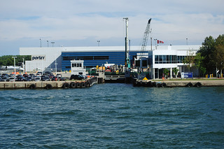 YTZ Ferry terminal | by Steelhead 2010