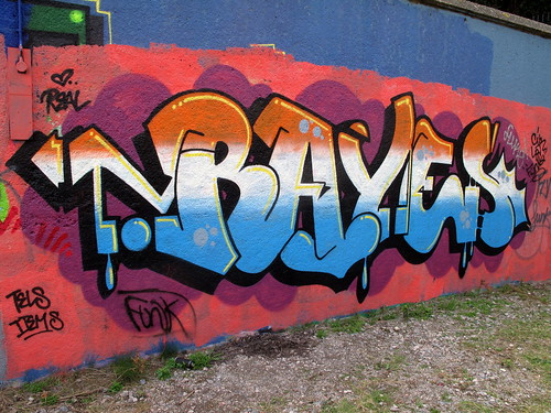 Rayes graffiti | by duncan