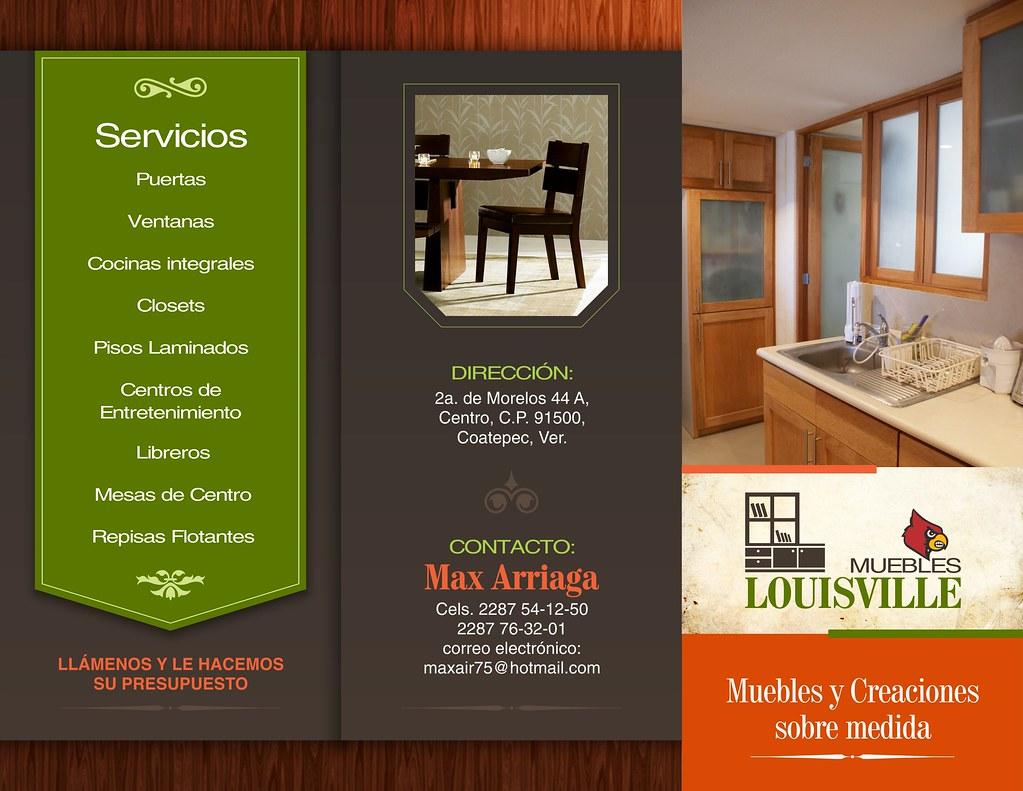 Triptico Muebles Louisville Frente Jose Antonio Herrera Flickr # Muebles Direccion