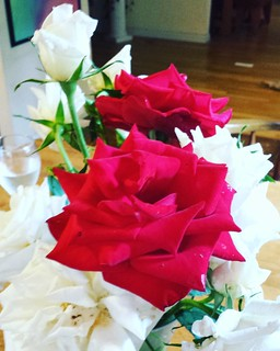 Rose bouquet from my garden | by SarabellaE / Sara / Love in the Suburbs