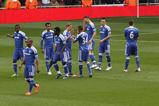 Chelsea Warm Up | by Ronnie Macdonald