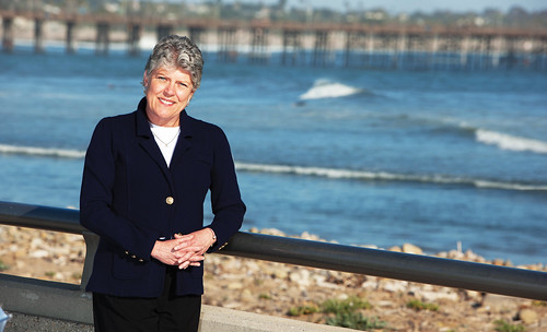 Julia Brownley at the Ventura Pier | by Julia Brownley for Congress