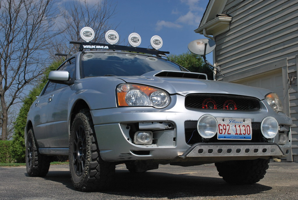 Lifted Wrx 6 | Suspension: 05 fxt struts and springs 05 fore… | Flickr