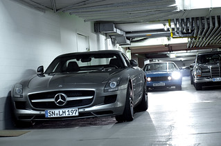 Mercedes SLS | by DALIUSphotography