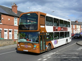 Nottingham City Transport 723 in Bulwell