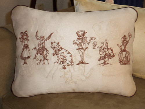 ALICE PILLOW FRONT | by and liddle lamzy divy