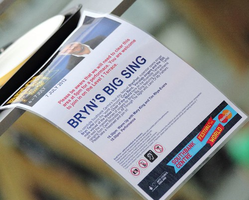 Bryn's Big Sing - Royal Festival Hall | by dorsetbays