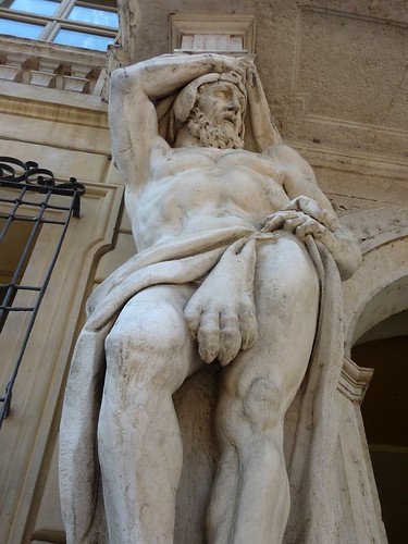 Mantua, Piazza Sordello, Giant or Hercules | by Truus, Bob & Jan too!