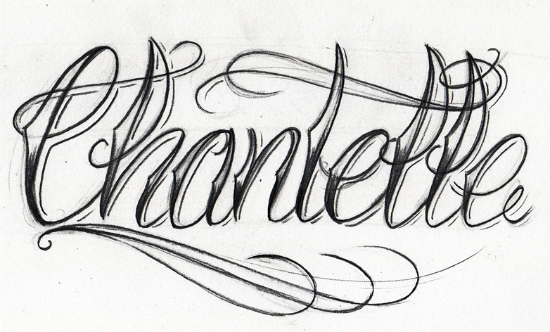 Tattoo Lettering Styles Alphabet I7
