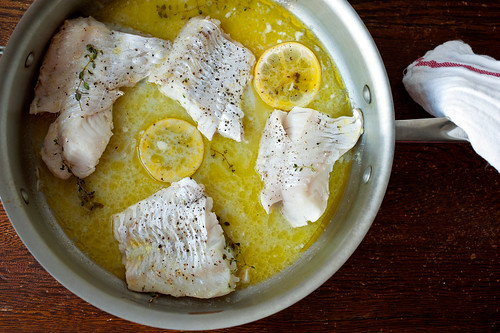 cooked hake - our saturday night dinners post farmers' market | by sassyradish