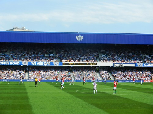 QPR v Swansea City (18/08/12) | by A Travelling Jack