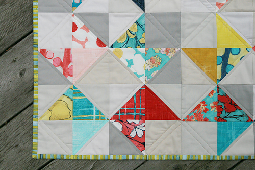 Cosmos Ribbon Quilt | by Fresh Lemons : Faith