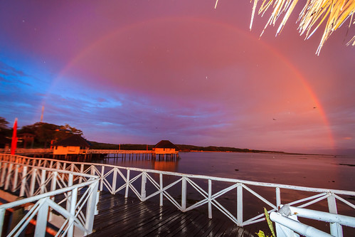 Rainbow Sunset at the Stilts | by julesnene