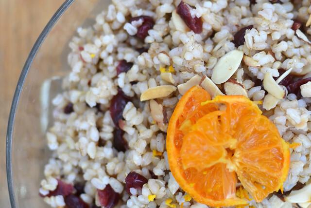 Clementine Ginger Almond Rice - vegan, gluten-free, soy-free