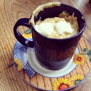 Mug Cake Au P Ef Bf Bdpites De Chocolat Recette