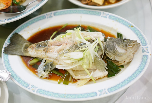 Steamed Black Bass